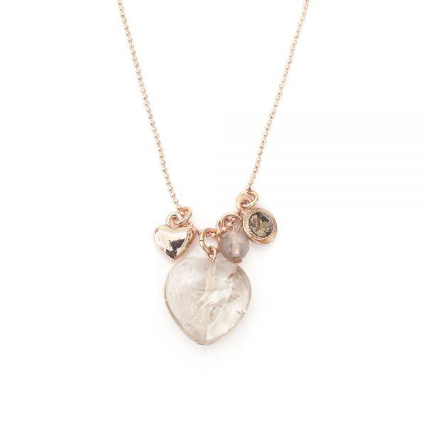 Lange Herz Kette von Lizas Jewellery