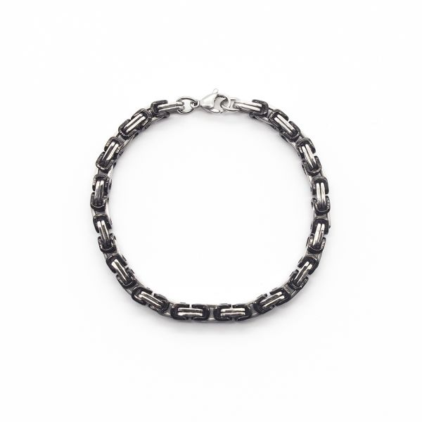 Königsketten Armband bicolor