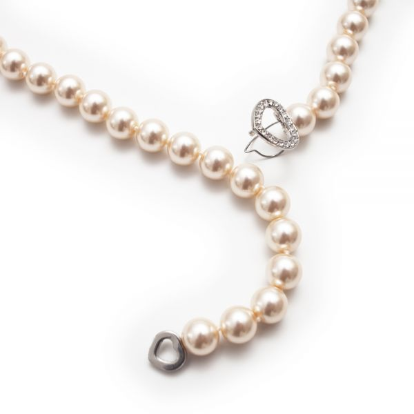 Raffinierte Perlenkette (Verschluss)