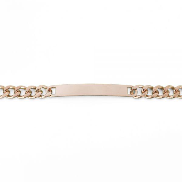Schmales Gravur- Armband rosegold