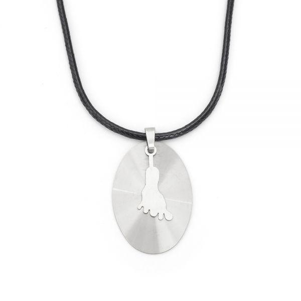 Halskette mit Gravur für Herren