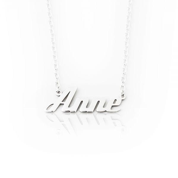 Namenskette aus 925er Silber