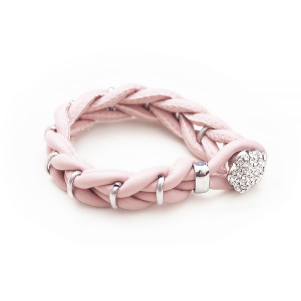 Extravagantes Armband in rosa