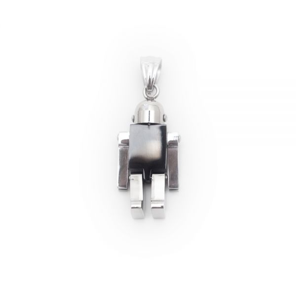 Charmanter Kettenanhänger »Roboter« Dieser