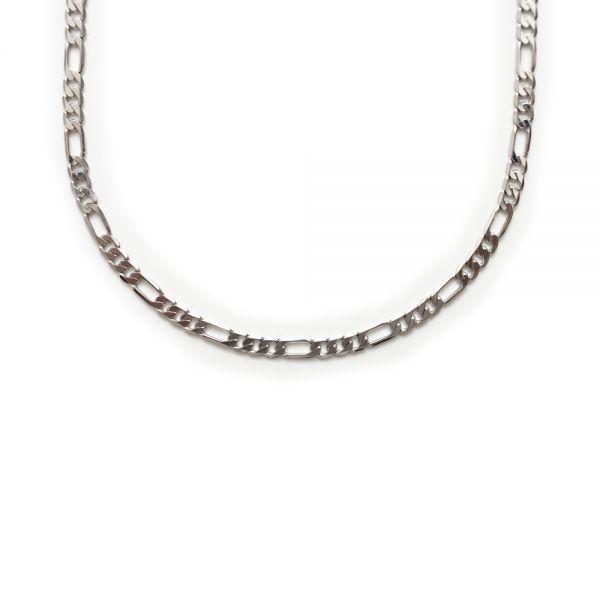 Schlichte silberne Herren-Halskette