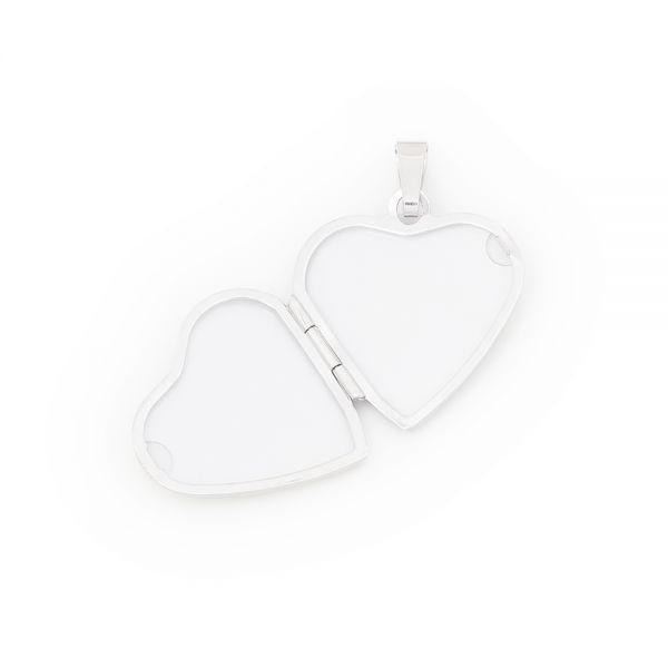 Bezauberndes Herzmedaillon aus 925er Silber